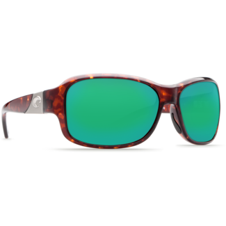 Costa Inlet Tortoise Frame with Green Mirror Glass Lens 580G
