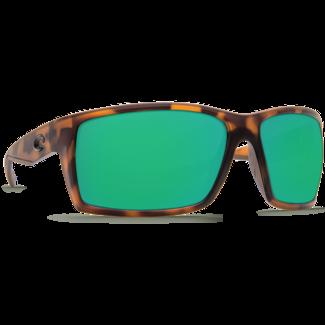 Costa Reefton Matte Retro Tortoise Frame with Green Mirror Glass Lens 580G