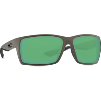 Costa Reefton Moss Frame with Green Mirror Glass Lens 580G