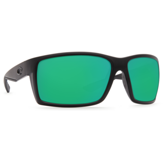 Costa Reefton Blackout Frame with Green Mirror Glass Lens 580G