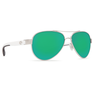 Costa Loreto Palladium Frame with Green Mirror Plastic Lens 580P