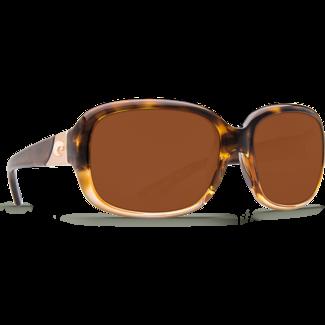 Costa Gannet Shiny Tortoise Frame with Fade Copper Plastic Lens 580P
