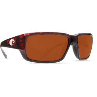 Costa Fantail Tortoise Global Fit Frame with Copper Plastic Lens 580P