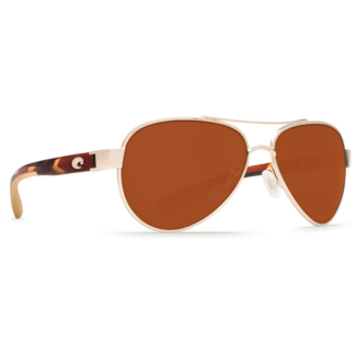 Costa Loreto Rose Gold Frame with Copper Plastic Lens 580P