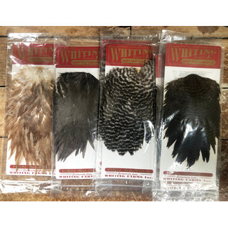WHITING Wet Fly Hackle Hen Saddles