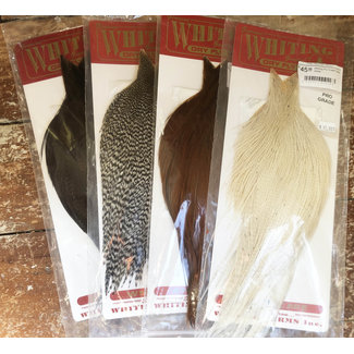 Whiting Dry Fly Hackle, Pro Grade Whole Cape