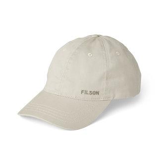 Filson Twill Low Profile Cap Stone One Size