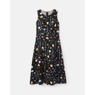 Joules Joules Women's Chrissie Waisted Linen Dress