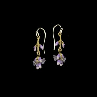 Michael Michaud Design Michael Michaud Lavender Earrings - Wire Dangle