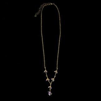 "Michael Michaud Design Michael Michaud Lavender Necklace - 16"" Adjustable"