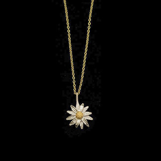 "Michael Michaud Design Michael Michaud Daisy Necklace - Pendant 18"" Adjustable"