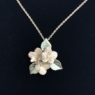 "Michael Michaud Design Michael Michaud Hydrangea Necklace - Pendant 18"" Adjustable"