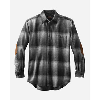 Pendleton Pendleton Men's Elbow Patch Trail Shirt - Charcoal Ombre