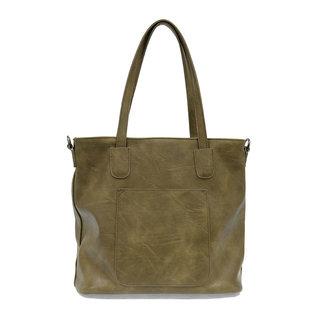 Joy Susan Terri Traveler Zip Tote Handbag