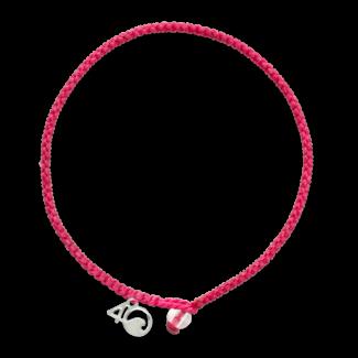 4Ocean 4Ocean Braided Bracelet Flamingo - Pink
