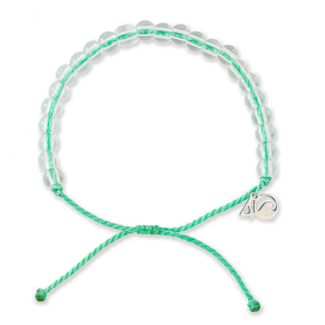 4Ocean 4Ocean Beaded Bracelet Loggerhead Sea Turtle - Sea Foam Green