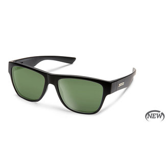 SunCloud Suncloud Redondo Matte Black Polarized Gray Green
