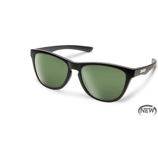 SunCloud Suncloud Topsail Matte Black Polarized Gray Green