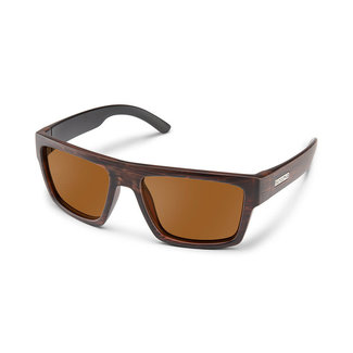 SunCloud Suncloud Flatline Burnished Brown Polarized Brown
