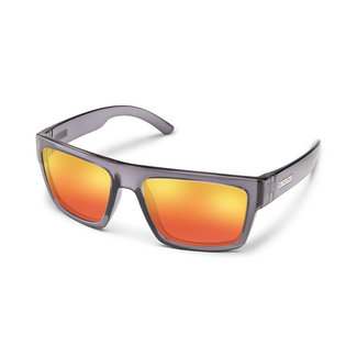 SunCloud Suncloud Flatline Transparent Gray Polarized Red Mirror