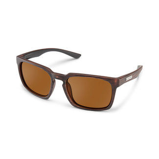 SunCloud Suncloud Hundo Burnished Brown Polarized Brown