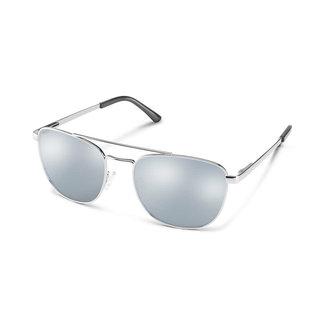 SunCloud Suncloud Fairlane Matte Silver Polarized Silver Mirror