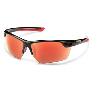 SunCloud Suncloud Contender Black Polarized Red Mirror