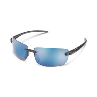 SunCloud Suncloud Highride Matte Black Polarized Blue Mirror