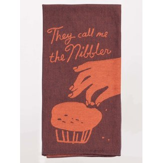 Blue Q Blue Q Dish Towel - They Call Me The Nibbler