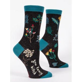 Blue Q Blue Q Women's Crew Socks - You Fancy Bitch