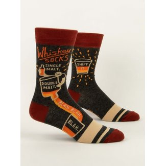 Blue Q Blue Q Men's Crew Socks - Whiskey Socks