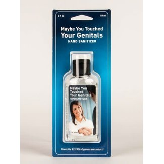 Blue Q Blue Q Hand Sanitizer - Maybe You Touched Your Genitals