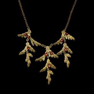 "Michael Michaud Design Michael Michaud Holiday Arbor Draping Necklace - 16"" Adjustable"