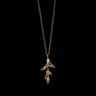 "Michael Michaud Design Michael Michaud Holiday Arbor Necklace - Dainty Pendant 16"" Adjustable"