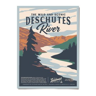 The Landmark Project The Landmark Project Deschutes Poster