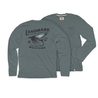 The Landmark Project The Landmark Project Fly Fishing Club Long Sleeve Shirt