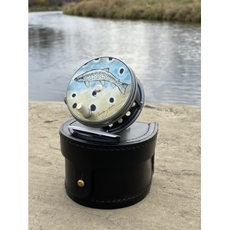 Hardy Fly Fishing Hardy Wide Spool Perfect Reel 3⅛  Charles Jardine Brown Trout