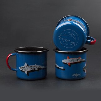 RepYourWater RepYourWater Enamel Camp Mug - Trout Country