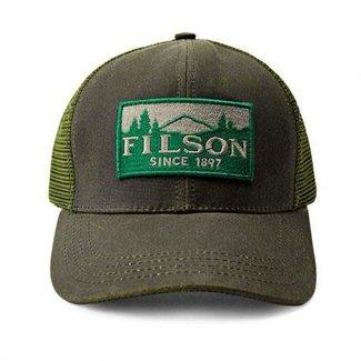 Filson Filson Logger Mesh Cap Logo Patch