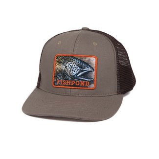 Fishpond Fishpond Slab Trucker Hat - Sandstone/Brown