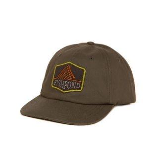 Fishpond Fishpond Dorsal Fin Full Back Hat - Moss