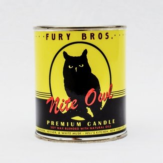 Fury Bros. Fury Bros. Motor Oil Series Candle Nite Owl