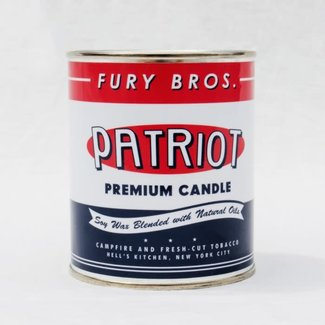 Fury Bros. Fury Bros. Motor Oil Series Candle Patriot