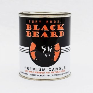 Fury Bros. Fury Bros. Motor Oil Series Candle Black Beard