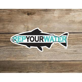 RepYourWater RepYourWater Logo Sticker