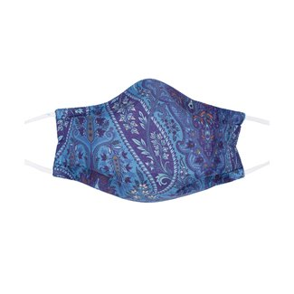 Echo Design Echo Design Kelly Paisley Silk and Cotton Mask