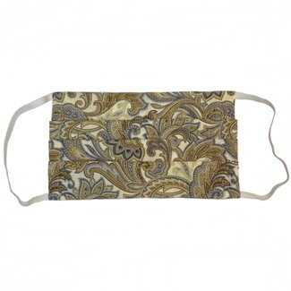 The Painted Trout Hand-Made Fabric Face Masks Paisley