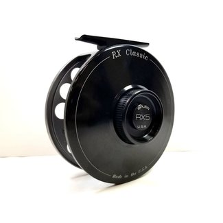 Bauer RX5 Fly Reel Gold Hub