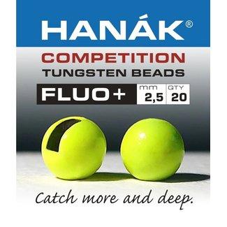 Hanak Hanak Competition Tungsten Beads  FLUO+