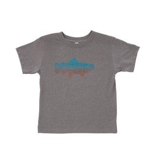 Fishpond Fishpond Maori Trout Kids  Shirt - Granite